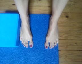 esercizi piedi