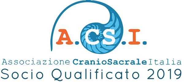 Associazione CranioSacrale Italia - Socio Qualificato 2019